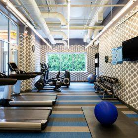 Aloft_Lexington - Gym
