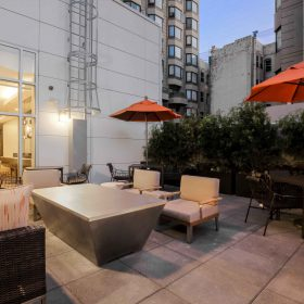 Courtyard San Francisco Terrace