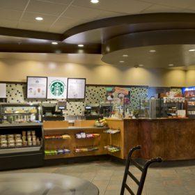 Doubletree Danvers Starbucks