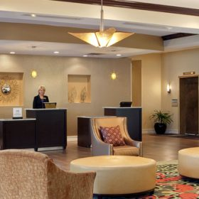 Embassy Suites Columbus Front Desk