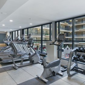 Embassy Suites Downey Fitness Center