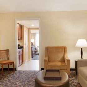 Embassy Suites Waltham Living Area