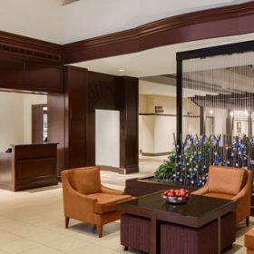 Embassy Suites Waltham Lobby