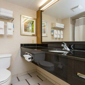 Fairfield Inn Des Moines Bathroom
