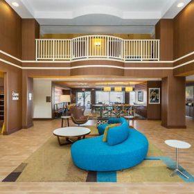 Fairfield Inn Des Moines Lobby