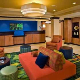Fairfield Inn Jonesboro Lobby