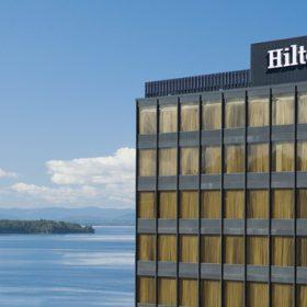 Hilton Burlington Exterior