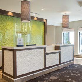 Hilton Garden Inn Akron Lobby