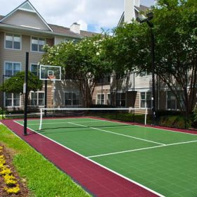 Residence Inn Baton Rouge Tennis Court
