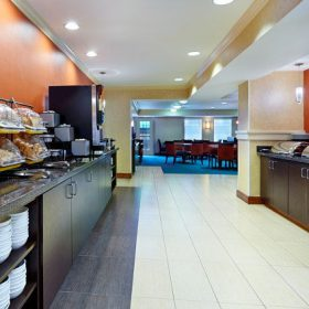 Residence Inn Houston (Galleria) Breakfast Area