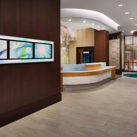 Springhill Suites Houston Digital Board