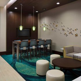 Springhill Suites Houston Lobby
