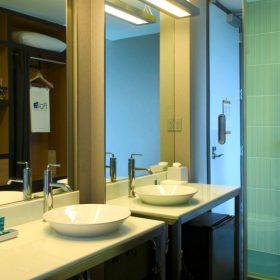 aloft - rogers - guest bathroom